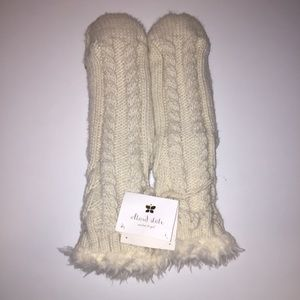 895e9394f9d Altar d State White Fur Tall Slippers